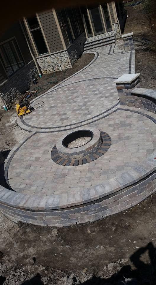 we can build a custom firepit